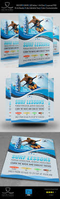 the world s catalog of ideas surf training flyer design template flyers print design template psd here