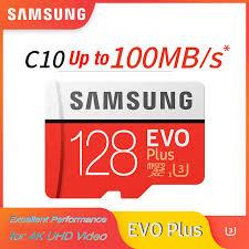<b>SAMSUNG</b> microsd <b>card 256G</b> 128GB 64GB up to 100MB/s Class10 ...