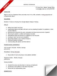 Resume Examples    Sample Registered Nurse Resume Objective   Easy