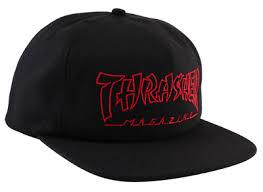 Thrasher Skateboard Magazine, Черный/Красный Китай банки с ...