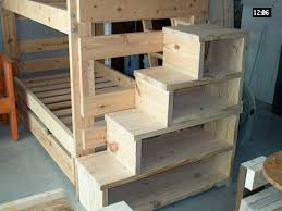 bunk bed steps shelves great idea for younger kids who have trouble with the bunk bed steps casa kids