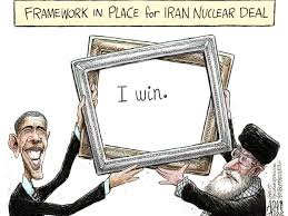 Image result for US-IRAN AGREEMENT CARTOON