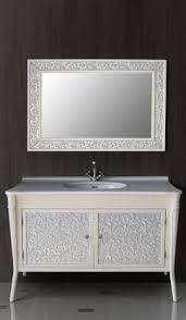 Мебель для ванной <b>Атолл Валенсия 130</b> см, ivory патина серебро