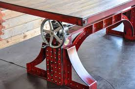 collect this idea crank table design by vintage industrial 3 american retro style industrial furniture desk