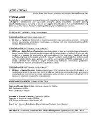 example student nurse resume   free sample   nursing school    example student nurse resume   free sample