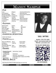 beginner resume format  beginner acting resume  sample acting    actor headshot resume examples