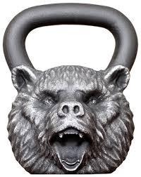 <b>Гиря</b> цельнолитая <b>Iron Head Медведь</b> 32 кг