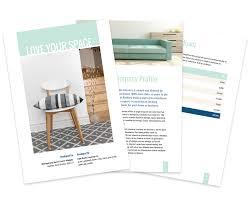 interior design proposal template sample