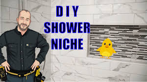How to Build a <b>Shower</b> Niche - YouTube
