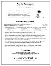 licensed vocational nurse lvn resume sample job and resume lvn resume sample no experience