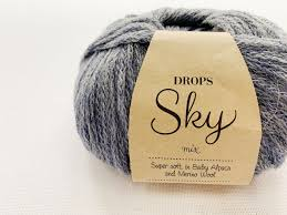 Мягкая, как облако. Что связать из нежнейшей <b>DROPS Sky</b> ...