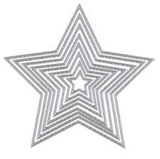 <b>8pcs Basic Stars</b> Cutting Dies Carbon steel Metal Cutting Dies ...