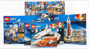 ALL <b>LEGO City Space</b> Compilation 2019 Speed Build - YouTube