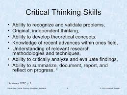 ch     Psychology is defined as    PDF Thinking Critically About Critical Thinking   Edition