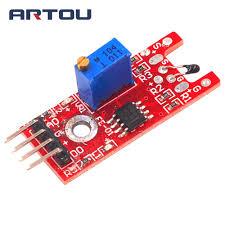 <b>5pcs</b> Digital <b>Thermal Sensor Module Temperature Sensor Module</b> ...