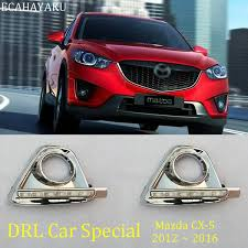 <b>ECAHAYAKU LED DRL Daytime Running</b> Light For Mazda CX 5 ...