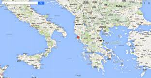 Image result for corfu map