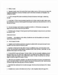 napoleon speech outline outline worksheet for informative image of page 2