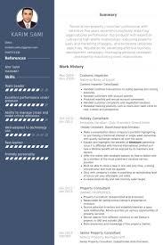 inspector resume samples   visualcv resume samples databasecustoms inspector resume samples