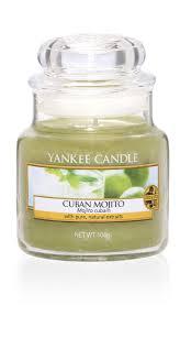 Yankee Candle <b>Свеча ароматическая</b> Кубинский <b>мохито</b> 25-45ч ...