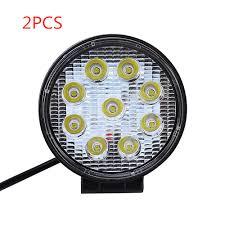 2pc 27W Car <b>LED</b> Work Light Bar <b>12V</b> 24V IP67 Spotlight Work ...