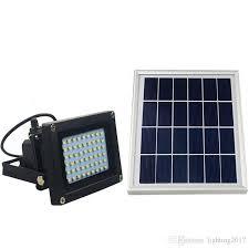 2019 Solar Powered <b>LED</b> Flood Light <b>Radar Induction IP65</b> ...