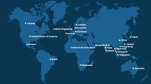 global presence st engineering map