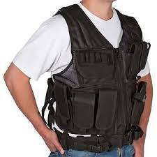 Adjustable <b>Tactical Military</b> and <b>Hunting Vest</b> Black-MW-BLACKV ...