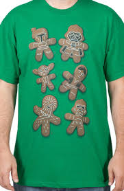 Gingerbread Star Wars Characters tee | <b>Футболки</b> | Звездные ...