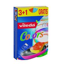<b>Губка Vileda Pure Colors</b>, 4, артикул: 149470 - купить в Дочки ...
