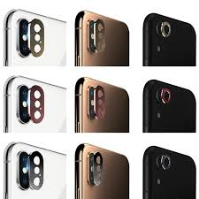 For iPhone X <b>Rear Back Camera</b> Protector Protective <b>Lens Case</b> ...