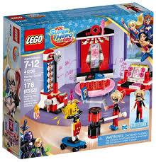 <b>Конструктор LEGO</b> DC <b>Super Hero</b> Girls 41236 Дортуар Харли ...