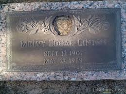grave site of melvy edgar linton billiongraves headstone image of melvy edgar linton