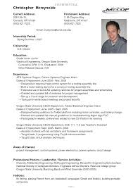 examples of good resumes for college students sample college college sample resume