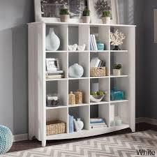 bush furniture aero 16 cube bookcase room divider by bush furniture bush aero office desk design interior fantastic