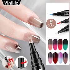 240pcs/Set False Nail Tips Nature Clear Black Finger Full Card Nail ...