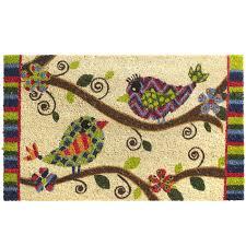 doormats outdoor wall decor love love birds doormat loading zoom clearance indoor outdoor