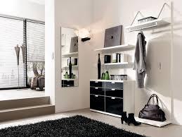 luxury black and white hallway design home interior black white furniture
