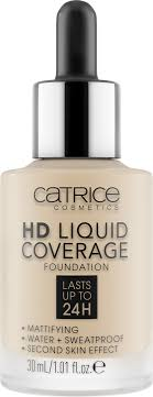 CATRICE <b>Основа тональная</b> для лица <b>HD</b> Liquid Coverage ...
