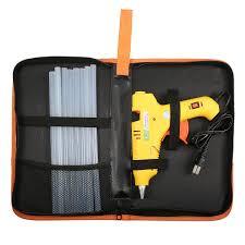 <b>Mini</b> 60W/100W Hot Glue Gun Hot Melt Glue Gun with <b>10pcs</b> Glue ...