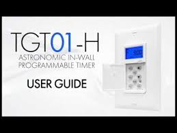 User Guide | In-Wall <b>Astronomic Programmable Timer</b> ...