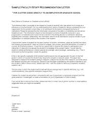letter of recommendation for high school student sample letters