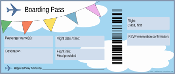 plane ticket clipart clipart kid plane ticket and boarding pass for first birthday party invitation