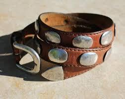 <b>Vintage leather</b> belt   Etsy