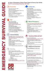 security annual security report santa barbara city college emergency survival guide