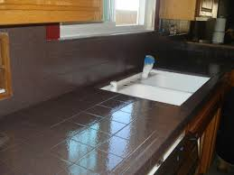 Kitchen Tile Countertop Pkb Reglazing Countertop Reglazing