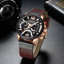 <b>CURREN 8329 Fashion Men</b> Waterproof Watch Six-pin Multi ...