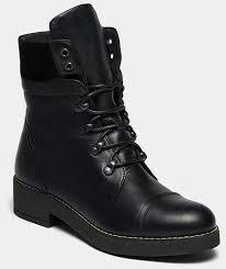 <b>Высокие ботинки</b> женские ALFA (цвет черный, натуральная кожа ...