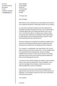 retail assistant cover letter example retail assistant cover letter