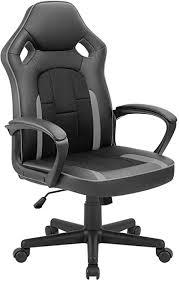 Tuoze Desk Racing Style High Back Leather Office ... - Amazon.com